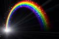 素材ナンバー 1313057 : 「虹 C Black R」