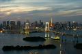 素材ナンバー 2114943 : 「東京タワーとレインボーブリッジの夜景微速度撮影(ミドル)」